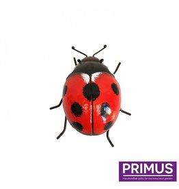 Metal ladybug
