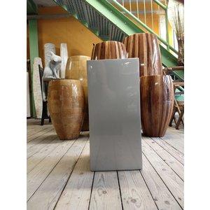 Eliassen Column high gloss Urta silver gray 60 cm
