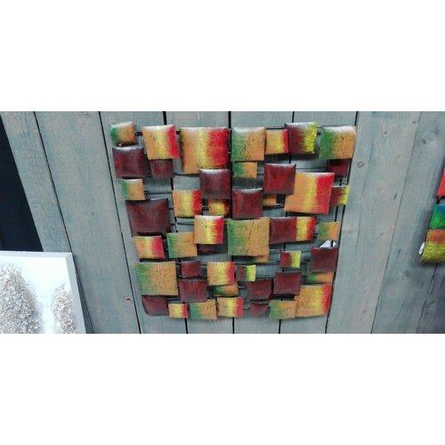 Wall decoration 3d Blocks 70x70cm