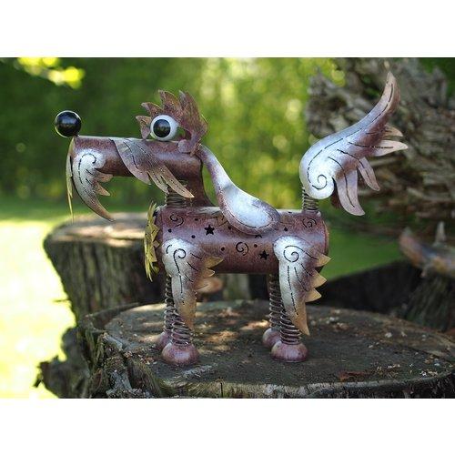 Metalen Grappige Hond