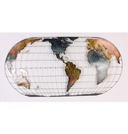 Eliassen Muurdecoratie World