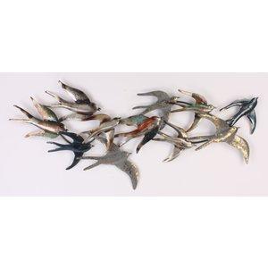 Eliassen Muurdecoratie Zwaluwen