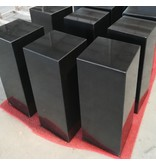Eliassen Sokkel  zwart graniet gepolijst 30x30x85cm hoog