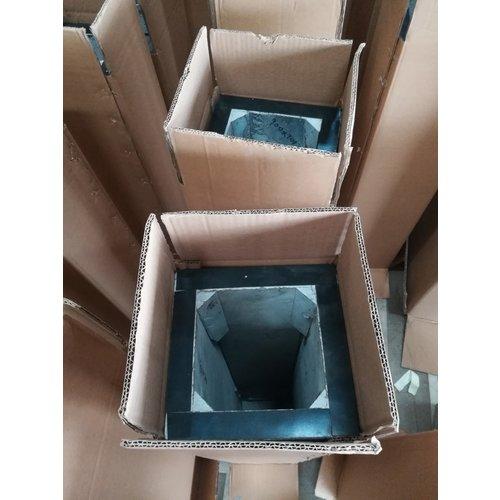 Eliassen Basis schwarzer Granit poliert 30x30x85cm hoch