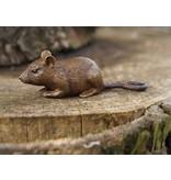 Eliassen Bronze mouse figurine