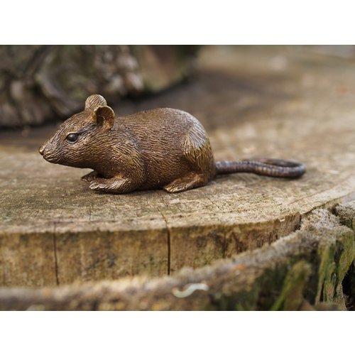 Eliassen Beeldje brons muis