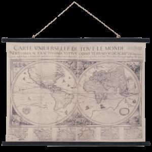 Eliassen Wandkarte Wereld3 105x76cm - Copy