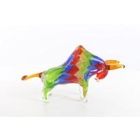Glasstatue Murano Stier