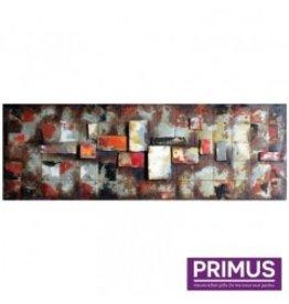 Primus Metal painting 3D 50x150cm blocks