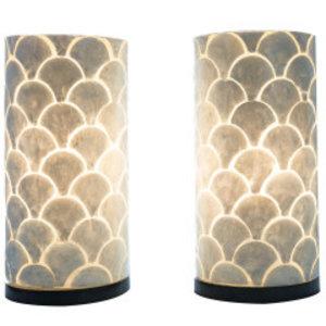 Table lamp set 40cm Kipas