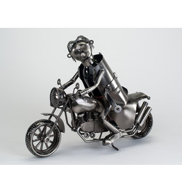 Wine bottle holder Motor + rider L