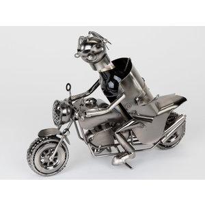 Weinflaschenhalter Motor + Fahrer M