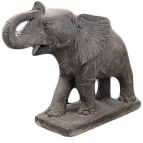 Eliassen Garden statue elephant big