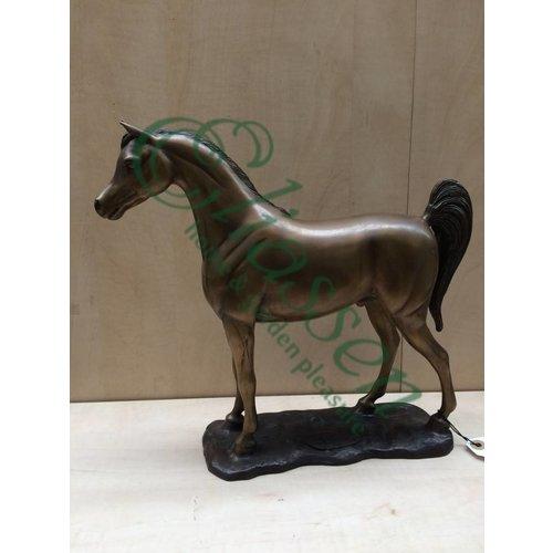 Eliassen Beeld brons paard met staart omhoog