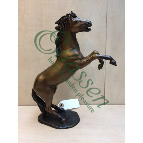 Eliassen Beeld brons klein steigerend paardje