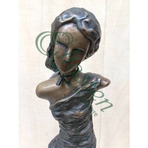 Eliassen Beeld brons dame modern