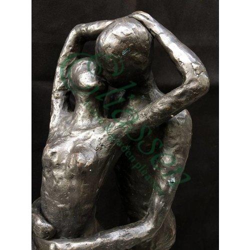 Eliassen Beeld brons zoenend liefdespaar