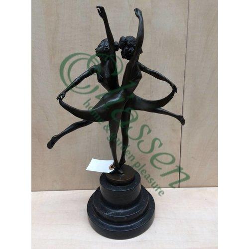 Bild zwei Bronze-Tänzer