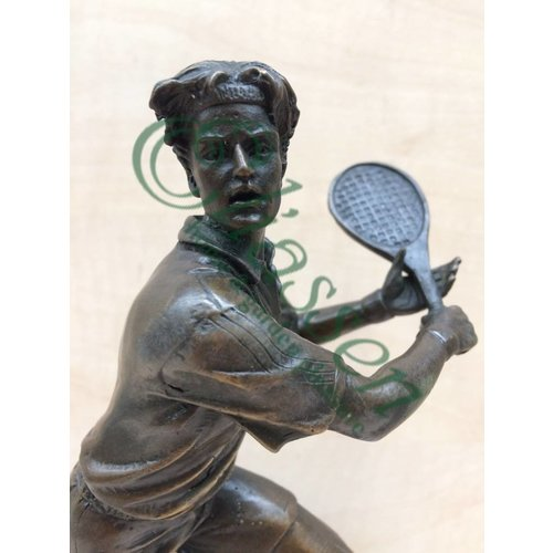 Bronze-Skulptur Tenniser