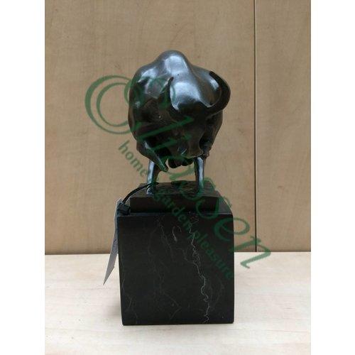 Bronzen beeld Moderne stier