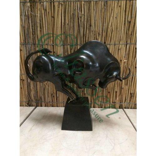 Bronze-Stier