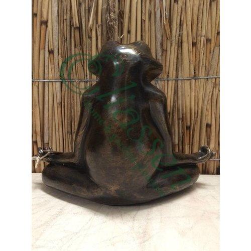 Bronze Zen Frosch