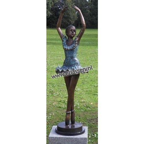 Eliassen Beeld brons ballerina armen omhoog