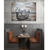Eliassen 3D Malerei Metall 80x120cm Gondel