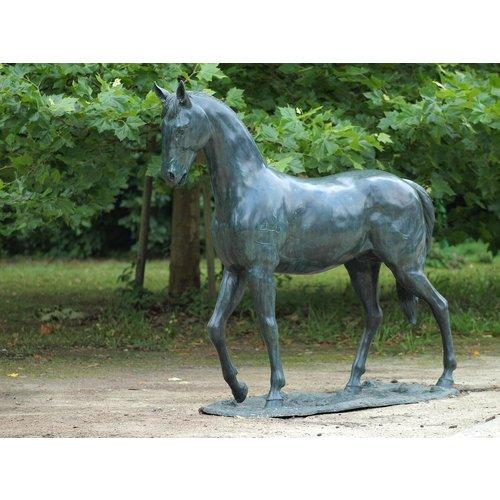 Eliassen Beeld brons groot paard