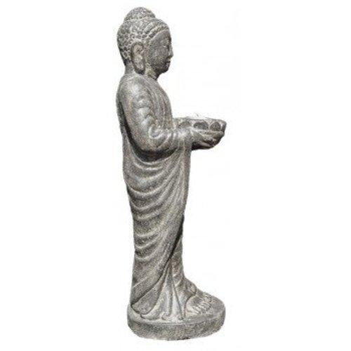 Eliassen Stehender Kerzenständer der Buddha-Statue