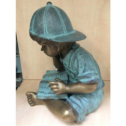 Eliassen Beeld brons lezende jongen