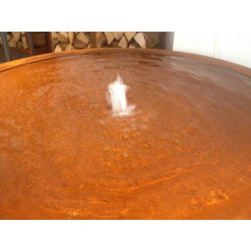 Adezz Producten Watertafel Adezz rond cortenstaal in 6 maten