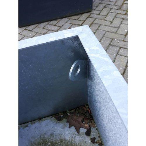 Adezz Producten Verzinkter Stahl Pflanzgefäße / Töpfe Adezz