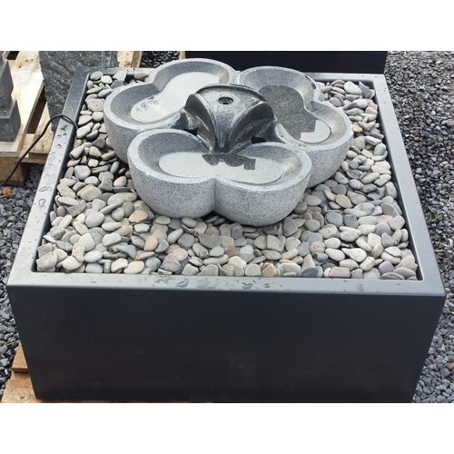 Eliassen Wasserschale Aluminium