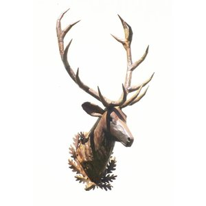 Eliassen Red deer head large exclusive