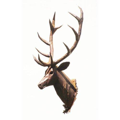 Eliassen Deer Kopf großes Plus