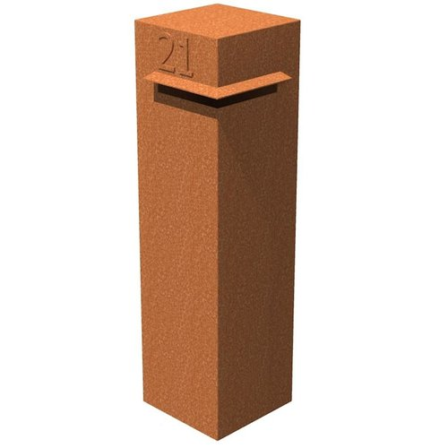 Adezz Producten Letter box Ivar Adezz aluminum