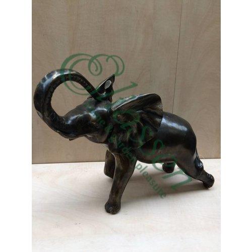 Eliassen Bronzestatue Elefant