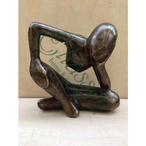 Eliassen Bronzen beeld Dromer M