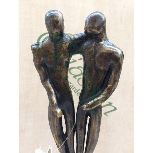 Eliassen Bronzestatue Männliche Liebe