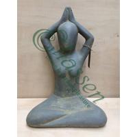 Yoga beeld Sukhasana 30cm