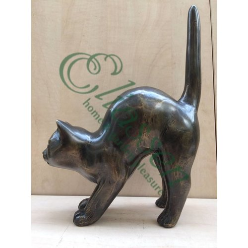 Eliassen Bronze-Skulptur Katze Skandale