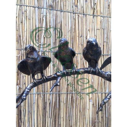 Eliassen Gartenstecker mit 4 Vögeln