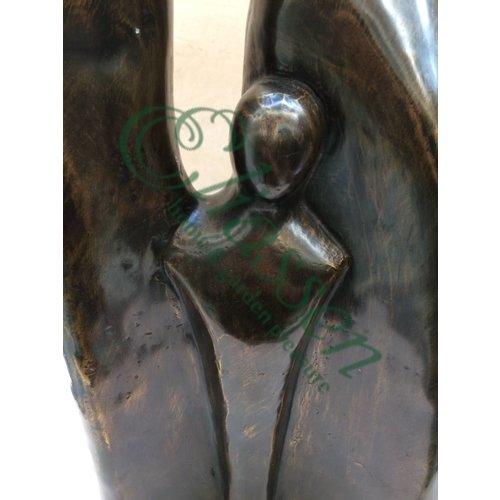 Eliassen Bronzen beeld Familie