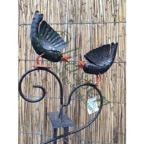 Eliassen Gartenstecker Vögel Gleichgewicht