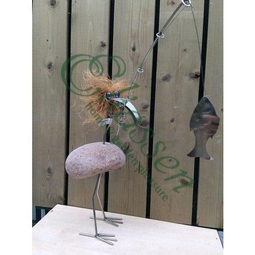 Bird fantasy stainless steel Bercadius angler