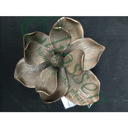 Eliassen Deurklopper brons bloem