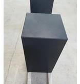Eliassen Base black granite matt 25x25x50cm