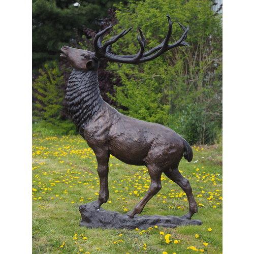 Eliassen Bronzen beeld reuze hert