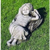 Tuinbeeld slapende engel